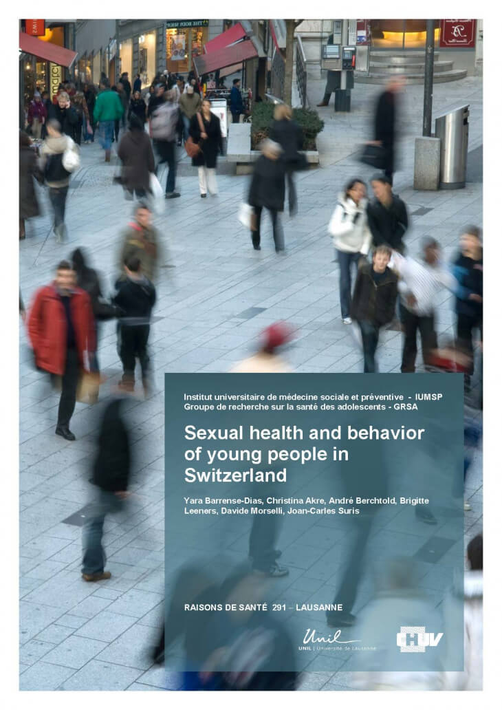 Sexual health and behavior of young people in Switzerland